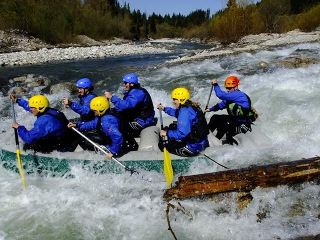 rafting bela