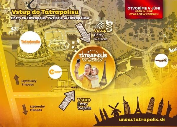 Tatrapolis mapa